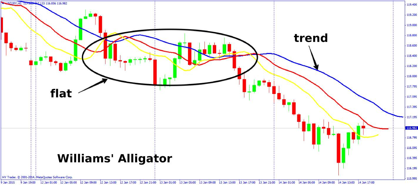 Forex flat trend indicator