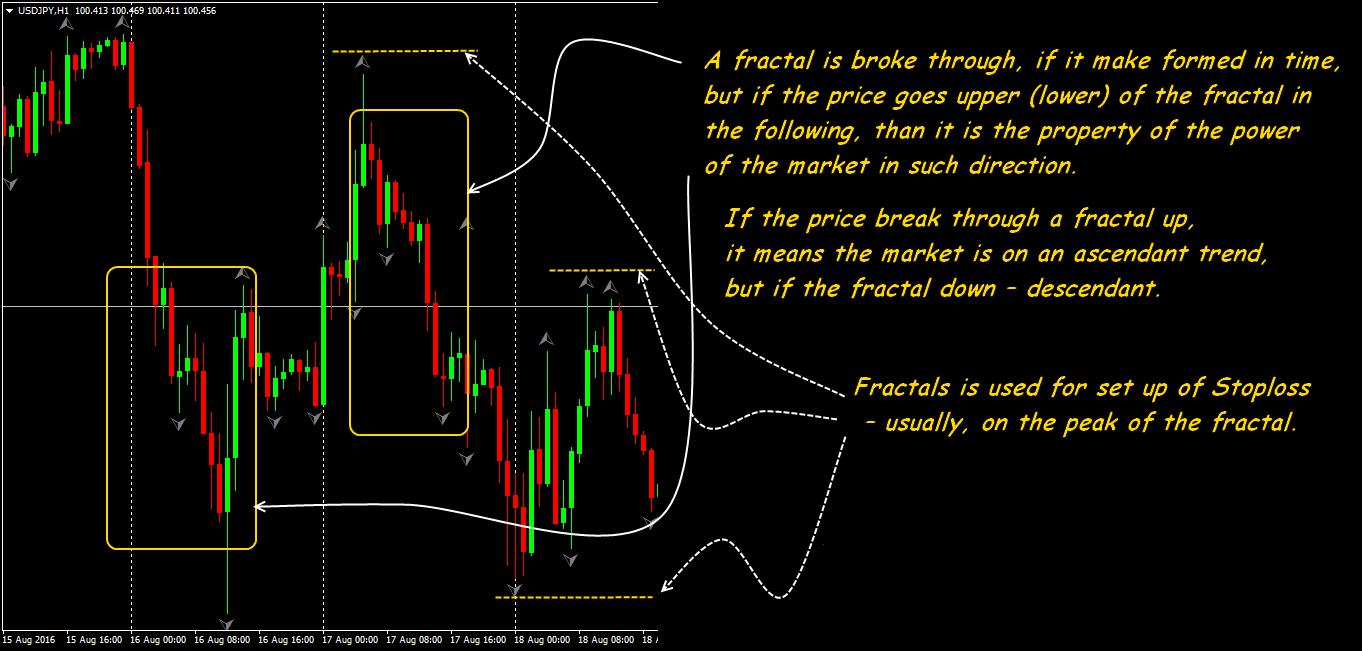 System fractal trading risk