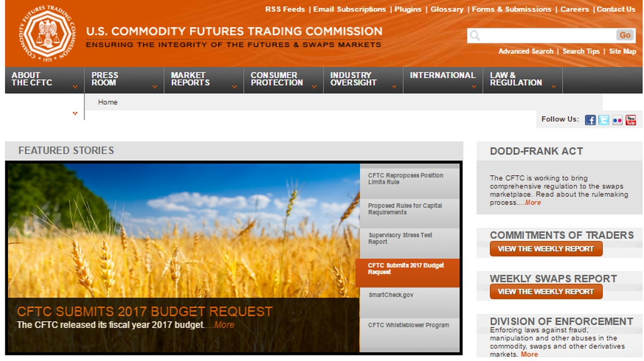 CFTC Glossary  US COMMODITY FUTURES TRADING COMMISSION
