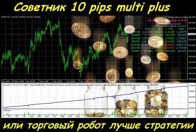 Форекс советник 10 pips пополнить депозит форекс
