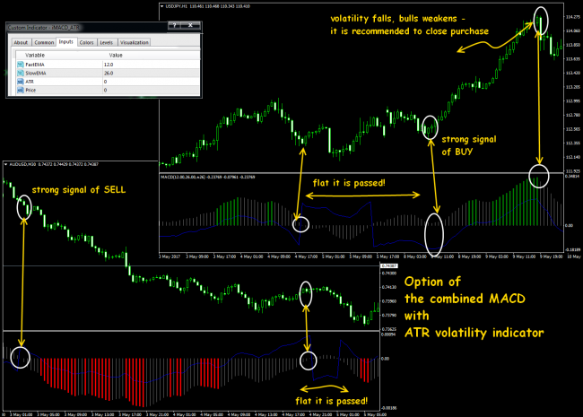MACD indicator as basis of trade system - DewinForex com