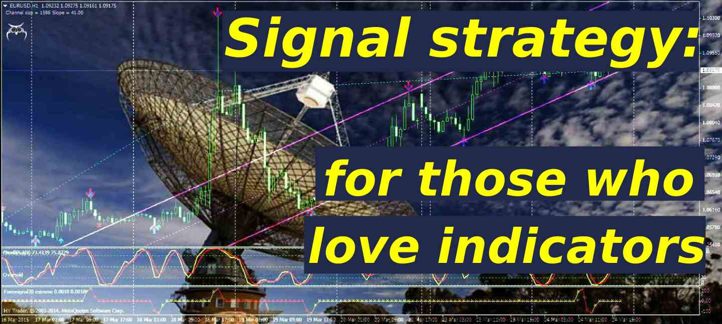 Signal Strategy: for Those Who Love Indicators - DewinForex